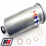 Sytec Motorsport In Line Fuel Filter 14x1.5 In & 12x1.5 Out Steel Body SSF3021